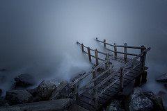 The Milky Way (Scott Baldock) Tags: long exposure seascape jetty steps blue tone winter atmosphere