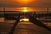 Golden light - 08051601 (Klaus Kehrls) Tags: sonnenuntergang nordsee cadzandbad strand meer
