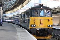 73966 stands at Aberdeen (trainferrystuff) Tags: 1b16 aberdeen class73 73966 trains railways scotland caledonian sleeper gbrf