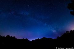 panoramica sella 2 (ArtHermo) Tags: night stars sky summer milk way nikon d7000 tokina 1116 nisi filter amics arturo hermosilla julio 2017 komando kassalla