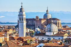 Der schiefe Turm von San Giorgio dei Greci (uwschu) Tags: venedig