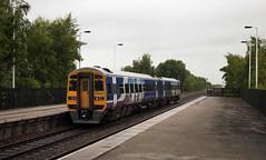158905 Gilberdyke 11/07/2017 (Flash_3939) Tags: 158905 class158 dmu dieselmultipleunit northern gilberdyke gbd station fone rail railway train uk july 2017