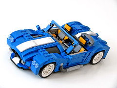 31070 Retro Roadster (NKubate) Tags: lego creaor alternate alternative 31070 shelby cobra corvette roadster retro nkubate nathanael kuipers