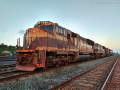 Vale S.A. Estrada de Ferro Carajás. (Cristiano Oliveira.) Tags: sd70m dash 9 vale carajás iron ore trains