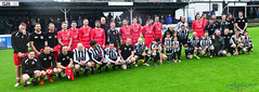 Kenny McLean testimonial match (swkphoto) Tags: kenny mclean beith all stars testimaonial match goals tackles legends preentation mighty cabes