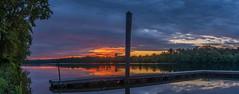 _DSC0031-Pano (johnjmurphyiii) Tags: clouds connecticut connecticutriver cromwell dawn originalnef riverroad riverportpark sky summer sunrise tamron18270 usa johnjmurphyiii