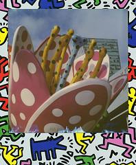 Les tulipes de Shangri-La (Lille) (@necDOT) Tags: polaroid impossibleproject slr680 color600 lille shangrila