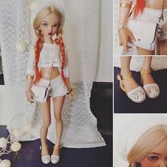 *original in white* (Selfie) Tags: minifeechloe minifee mnfchloe fairyland doll bjd msd