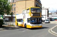 18305, Paignton, 26/06/17 (aecregent) Tags: paignton 260617 stagecoachsouthwest trident alx400 opentopper 18305 wa05mhe porter porterthepenguin 122 hop122