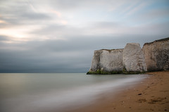 Washed Away (Ashley Hemsley) Tags: botany bay kent united kingdom england coastline travel sunrise light color sand coastal seafront waterscape landscape skyscape long exposure shutter speed creative artist art unique shot view explore flickr clouds blue white chalk canon 5d photography dslr horizon sea waves foreground focus point tides seascape beauty nature walk mood storm