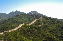 Great Wall of China (marti_lorenzo) Tags: china greatwall ancient history buldings genius wood forest foliage stones sky hdr canon canonefs1755mmf28isusm beijing traveling past architecture engineering