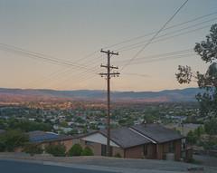 (roundtheplace) Tags: landscape landscapephotography street suburbs australia australianlandscape dusk pentax67 portra portra160 mediumformat analogphotography telegraphpole