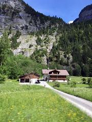 Alps Trip 0874m (mary2678) Tags: switzerland europe honeymoon mountain mountains lauterbrunnen valley bus waterfall rick steves myway alpine tour