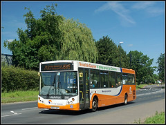 Travel de Courcey 560, Clifford Bridge Road (Jason 87030) Tags: man mcv evolution 560 traveldecourcey mike cliffordbridgeroad publictransport orange sunny weather weekend hot june 2017 uk england greatbritain ae07dzp 585 rugby midlands warks warwickshire local walsgrave route service
