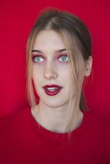 IMG_0137 (@k.jumank) Tags: red cross portrait photoshoot tallinn estonia eyes mug tea
