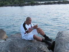 Me (Rated R Superstar!) Tags: geneva lake erie water rocks canon canonphotography vacation vacation2017 vacationphotography summer july 19th 2017