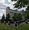 Smog (ArtFan70) Tags: smog tonysmith smith mccardellbicentennialhall mccardell middleburycollege middlebury college university vermont vt newengland unitedstates usa america art sculpture