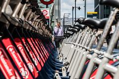 London   |   Framed (JB_1984) Tags: man person phone mobilephone mobile smartphone bike bicycle borisbike santandercycle frame framing depthoffield canarywharf docklands isleofdogs londonboroughoftowerhamlets london england uk unitedkingdom nikon d500 nikond500