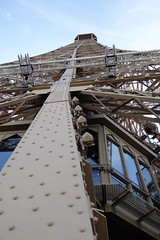 Eiffel Tower (Muddy LaBoue) Tags: iledefrance monuments towers iconicarchitecture 1889 2017 july worldexposition eiffeltower paris france attractions tourism panasoniclumixdmctz60 summer