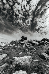 That sky (Tim Bow Photography) Tags: timbowphotography timboss81 rhossili welshlandscapes gower swansea welshphotography landscape landscapes blackandwhitephotography longexposure rockformation definition wideangle
