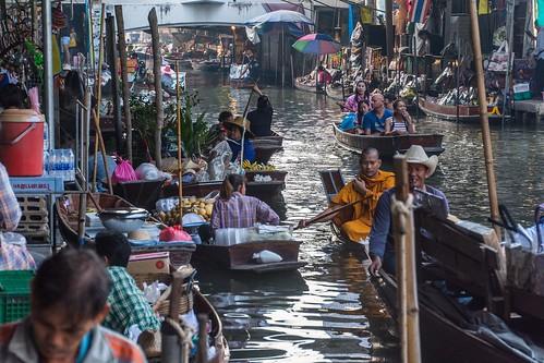 marche fottant damnoen saduak - thailande 18