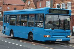 Discount Travel Solutions Dennis Dart SLF/Plaxton Pointer 2 (NA52 AWZ) (john-s-91) Tags: discounttravelsolutions dennisdartslf plaxtonpointer2 na52awz acocksgreen route11a