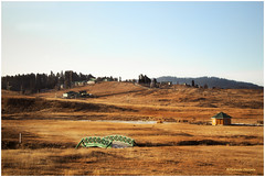 Once upon a time (MaheshChopde) Tags: grassland hill station hillstation gulmarg ground landscape nature scenery sky cloud holidays vacation bridge home brown winters srinagar