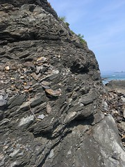 Raw Iron (Sam-in-Japan) Tags: mountain cliff nature mineral raw iron