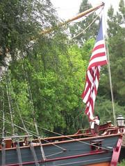 Hoist the Colors (artofjonacuna) Tags: american flag colonial disneyland colombia ship
