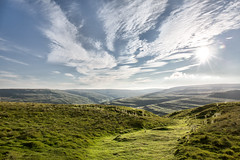 Follow The Path (jamesromanl17) Tags: nature landscape sky outdoors grass cloud hill travel summer mountain rural mountains clouds cloudscape cloudy sun sunlight sunset sundown path yorkshire dales nationalpark skies canon eos 5d countryside walk walking