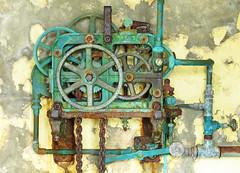 Sound of Silence (Julian Hodgson) Tags: ardnamurchan ardnamurchanpoint lochaber argyll scotland foghorn cogs rust decay silence canonpowershotsx60hs lighthouse northernlighthouseboard