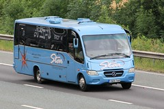 Star Coaches YN05 TAR 21st July 2017 (asdofdsa) Tags: buses coaches transport travel holiday dayout daytrip motorway m62 goole westbound