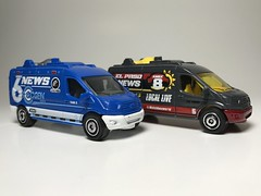 Ford Transit News Van (king_joe007) Tags: 164 diecast matchbox ford transit tv news van