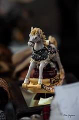 Nel paese dei balocchi (Chiara Mangiaracina) Tags: closeup toys handmade giostre giochi stilllife milano rockinghorse nikon fsntasy horse horses christmas street streetphotography