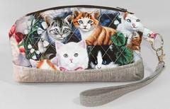 Zippered Wristlet (Nice Threads) Tags: wristlet zipperedbag keyfob cat bag kitten pocketbook wallet clutch