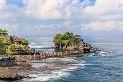 Pura Tanah Lot (grzegorzmielczarek) Tags: temple tanahlot puratanahlot asia bali indonesia indonesien kediri