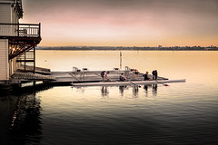 Rowing Club (Bill Thoo) Tags: perth westernaustralia australia swanriver rowingclub boat competitiverowing rower river dawn landscape travel urban sony a7r ilce7r