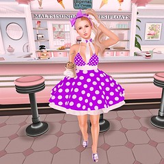 Shake It Up (SL Freebie Addiction) Tags: sl secondlife slfashion astrology preciousdesigns deathrowdesigns shake wowskins cagedbutterfly slink aviglam