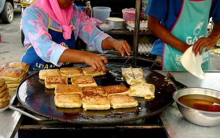 ナイトマーケットとランカウイ名物料理(ストリートフード・屋台料理が味わえるオプショナルツアー)