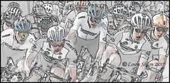 Speeding (Louis Shum) Tags: racing bike cycling speed arts artistic effect computereffect