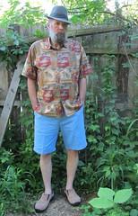 7-17-2017 Today's Clothes (Michael A2012) Tags: biltmore felt fedora hat tori richard cotton lawn nautica brahma suede clog