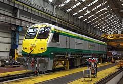 222, Inchicore Works, 27 Feb 2017 (Mr Joseph Bloggs) Tags: emd electro motive division gm general motors bahn railway railroad irish ireland rail ir cie ie inchicore works dublin 201 222 jt42hcw emdjt42hcw