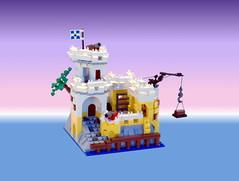 Micro Eldorado Fortress (zachmoe) Tags: lego micro eldoradofortress 6276 pirates