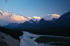 Dusk (Kristian Francke) Tags: rocky rockies mountain mountains jasper national park alberta canada pentax view landscape outdoors nature natural blue hour dusk