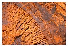 Scars of Time (Karen McQuilkin) Tags: rock surface valleyoffire redrocks karenmcquilkin scars explore
