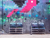 Chairs (deepaqua) Tags: chair cinderblock brooklyn streetart art street greenpoint