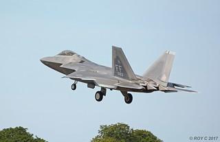 F-22 RAPTOR 08-4163 FF USAF