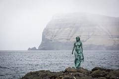 Faroe Islands - Sealwoman (christineXVIII) Tags: ifttt 500px mist sky landscape fog lake sea winter people water nature travel ocean rock tourism beautiful snow mountain ice seashore outdoors faroe islands kalsoy sealwoman