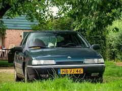 Citroën Xantia 2.0i SX Aut. (Skylark92) Tags: nederland netherlands holland zuid zuidholland streefkerk citroën xantia 20i 20 8v sx automatic vert vega green 1993 hbvj46