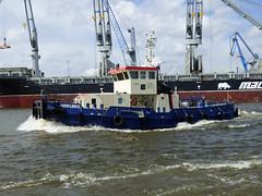 Hugo Lentz (ENI 04812290) (Parchimer) Tags: schubboot pushboat towboat pousseur pchacz duwboot spintore empurradorfluvial binnenschiff tolómotorhajó pushertug hamburg elbe hpa